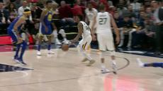 Berita video game recap NBA 2017-2018 antara Utah Jazz melawan Golden State Warriors dengan skor 119-79.