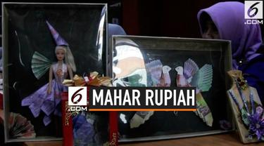 Bank Indonesia meluruskan perihan penggunaan Rupiah sebagai mahar. Ternyata, Rupiah boleh dijadikan mahar asalkan tidak merusak fisik uangnya.