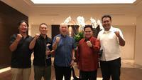 Pertemuan Erick Thohir, Perbasi dan IBL (Ist)