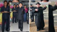4 Tahun Pimpin Korut, Berat Badan Kim Jong-un Naik 38 Kg. Kim 2012 kiri, dan Kim 2016 kanan (News.com.au/The Sun)