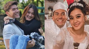 Menikah di Sinetron, Ini 6 Gaya Esta Pramanita dan Bara Valentino dalam Busana Pengantin