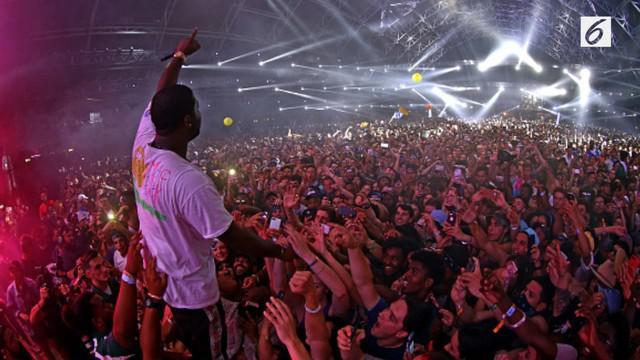 Sederet musisi dunia, seperti Lady Gaga, Drake, Kendrick Lamar, dan DJ Snake menggebrak panggung Coachella.