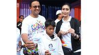 Sebagai Official Prestige Partner Asian Para Games 2018, PT Bank Rakyat Indonesia (Persero), Tbk turut memeriahkan Parade Momo yang digelar oleh Indonesia Asian Para Games Official Committte (INAPGOC) di Monumen Nasional, Minggu (23/9).