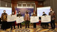 LPEI memberikan pembiayaan modal kerja kepada UMKM berorientasi ekspor di Jawa Timur (dok: humas)