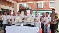 Hotel Indonesia Group resmikan renovasi Hotel Pesanggrahan dan pembangunan Water and Renewable Energy Learning Center.