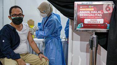 FOTO: 549 Anggota KPU Jalani Vaksinasi COVID-19