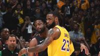 Duel LeBron James dan Dwyane Wade di lanjutan NBA (AP)