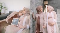 Maternity Shoot Citra Kirana dan Erica Putri (Sumber: Instagram//ericaputrii/