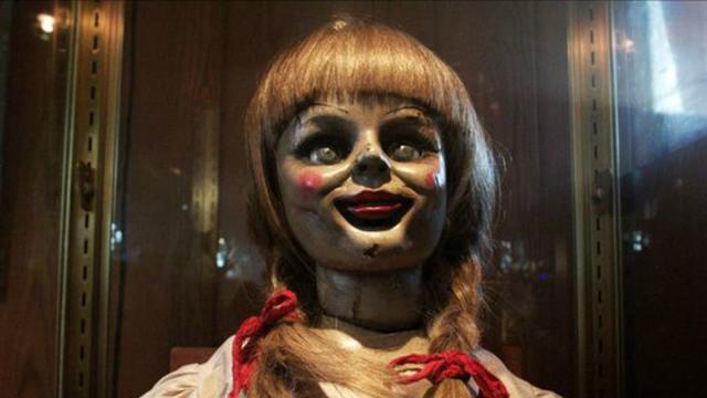 ilustrasi replika boneka Annabelle (AP)