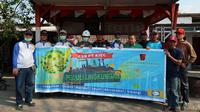 Kegiatan CSR bertajuk Jumat Bersih itu digelar di Kampung Penauan, Kelurahan Kubangsari, Kecamatan Ciwandan, Jumat (25/10).