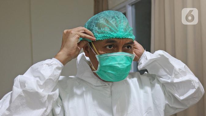 Terhindar Dari Covid 19 Tenaga Medis Dan Cleaning Service Rs Dicek Kesehatan Health Liputan6 Com