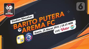 Prediksi Barito Putera vs Arema FC
