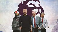 Premier League - Jurgen Klopp, Pep Guardiola, Sir Alex Ferguson, Arsene Wenger (Bola.com/Adreanus Titus)