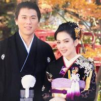Syahrini dan Reino Barack memakai kimono (Instagram/princessyahrini)