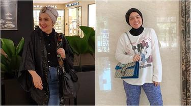 Sama-sama Senang Gunakan Turban, Ini 7 Beda Gaya Astrid Kuya dan Viona Rosalina