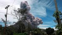 Gunung Sinabung (Liputan6.com/ Reza Perdana)