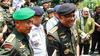 Panglima TNI Gatot Nurmantyo (kanan). (Liputan6.com/Fajar Abrori)