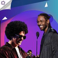 Berikut ini 5 aksi panggung keren saat penyelenggaraan Grammy Awards 2018. (Foto: AFP / Christopher Polk, AFP / KEVIN WINTER, Desain: Nurman Abdul Hakim/Bintang.com)