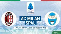 Serie A - AC Milan Vs Spal (Bola.com/Adreanus Titus)