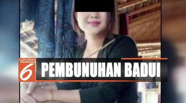 Tiga lelaki merenggut nyawa dan keperawanan gadis Badui dengan modus meminjam golok saat korban di gubuk tani milik keluarga.