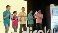 Peluncuran aplikasi Adiraku di Jakarta, Kamis (20/2/2020). (Liputan6.com/ Agustinus Mario Damar)