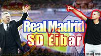 Real Madrid vs Eibar (bola.com/samsul hadi)