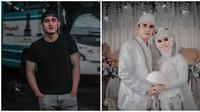 Haydar Ali Assegaf telah menikah pada 8 Januari 2021 lalu. (Sumber: Instagram/@haydarassegaf/@nengnada11)