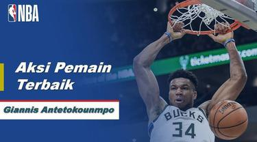 Berita Video Giannis Antetokounmpo Bawa Milwaukee Bucks Menang Atas Philadelphia 76ers 119-98
