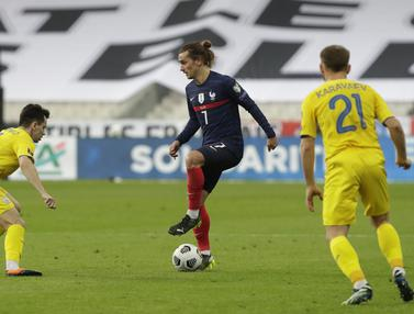 Ukraina Tahan Imbang Prancis di Kualifikasi Piala Dunia