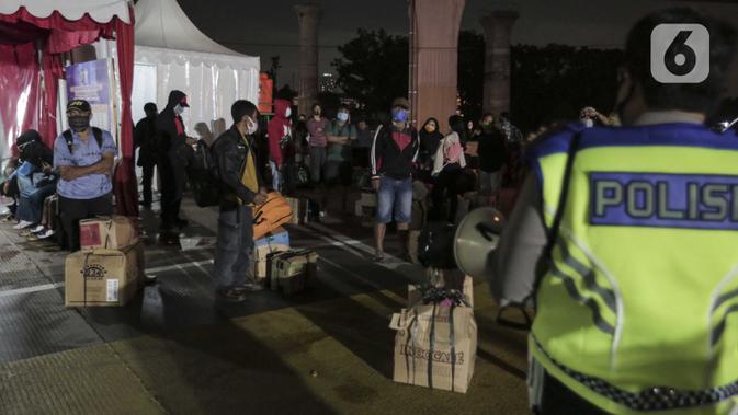 Tak Penuhi Syarat, 153 Penumbang Bus AKAP Ditolak di Terminal Pulogebang