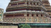 Salah satu pagoda di Wat Pho. (dok. liputan6.com/Novi Thedora)