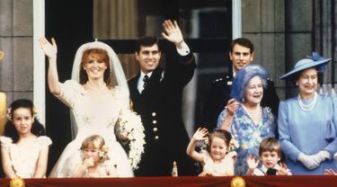 Pangeran Andrew dan Sarah Ferguson