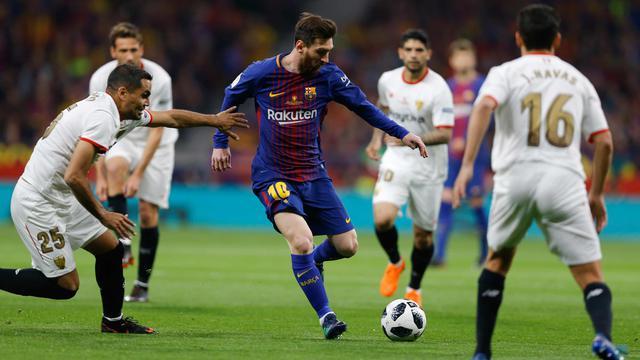 Barcelona Hajar Sevilla, Lionel Messi Berkat Dukungan Suporter Dukungan Penuh Suporter