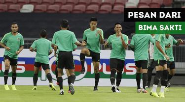 Pelatih Timnas Indonesia menitipkan pesan kepada para suporter Timnas Indonesia yang hadir di Singapura.