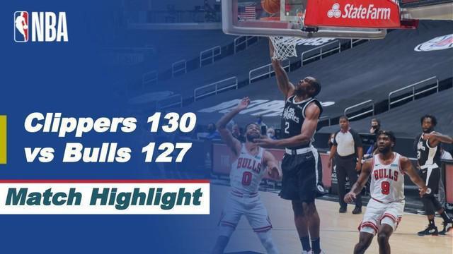 Berita Video, LA Clippers menang 130-127 atas Chicago Bulls (11/01/2021)