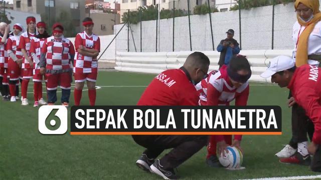 sepak bola tunanetra