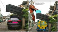 Editan Foto Kocak Kanopi Clara Gopa Ini Bikin Tepuk Jidat (sumber:facebook/sry)