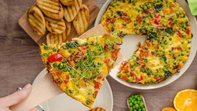 Resep Omelet Sayur Warna Warni Sehat Lifestyle Fimela Com