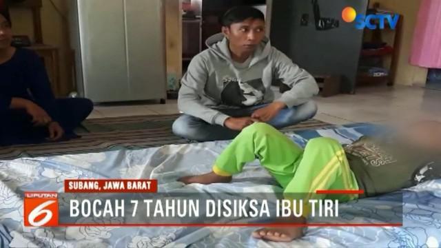 Ibu tiri korban yang berasal dari Desa Cikole, Lembang, Bandung Barat langsung kabur dan kini dalam pencarian.