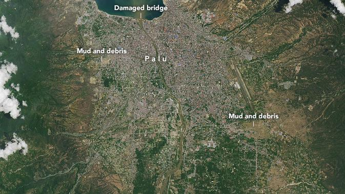 047030000 1538549209 palu 3 - NASA Rilis Foto Satelit Gempa dan Tsunami Palu yang Membut Ilmuwan Dunia Kebingungan