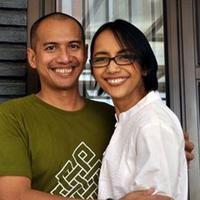 Nina Tamam dan Erikar Lebang (Dok. Pribadi)