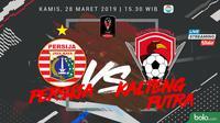 Piala Presiden 2019: Persija Jakarta vs Kalteng Putra. (Bola.com/Dody Iryawan)