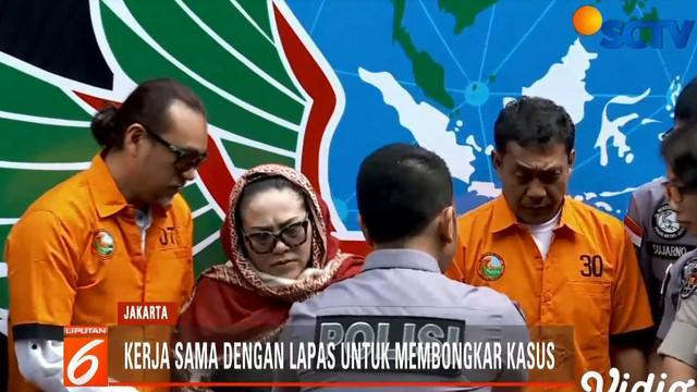 Setelah kembali diselidiki, Hadi mengaku mendapatkannya dari seseorang yang ternyata seorang narapidana narkotika di Lapas Paledang Bogor.
