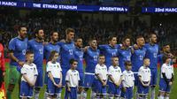 Timnas Italia gagal ke Piala Dunia 2018. (AP Photo/Dave Thompson)