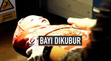 Kondisi bayi yang ditemukan di bawah kolong rumah masih dalam perawatan pihak rumah sakit. Kondisinya stabil meskipun sempat dikubur  hidup-hidup. Polres Palopo menyeliki kasus penemuan bayi ini.