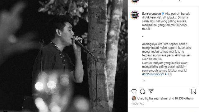 Ifan Seventeen (Foto: Instagram/@ifanseventeen)