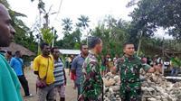 Persiapan TMMD di Kampung Kibay, Kabupaten Keerom, Provinsi Papua. (Liputan6.com/Katharina Janur/Pendam Cenderawasih)
