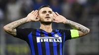 6. Mauro Icardi (Inter Milan) - 1 Gol. (AFP/Miguel Medina)