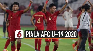 Timnas Indonesia sudah menyelesaikan kualifikasi Piala AFC U-19 2020. Bagus Kahfi dan kawan-kawan menjuarai Grup K sehingga memastikan satu tempat pada turnamen utama di Uzbekistan tahun depan.