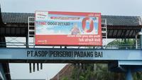 Dermaga I Pelabuhan Padangbai rusak parah ditabrak KMP Andika Nusantara milik PT Jembatan Nusantara sebulan lalu.